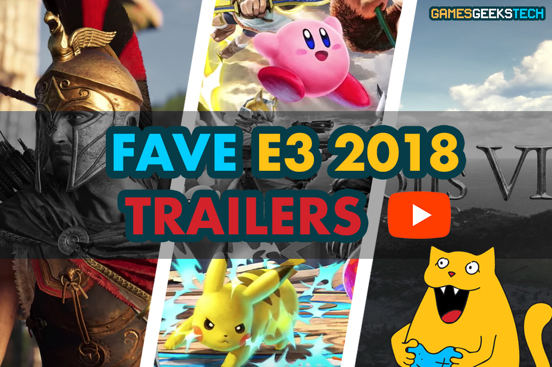 GGT Gus gets hyped about his favorite video game reveals from E3 2018