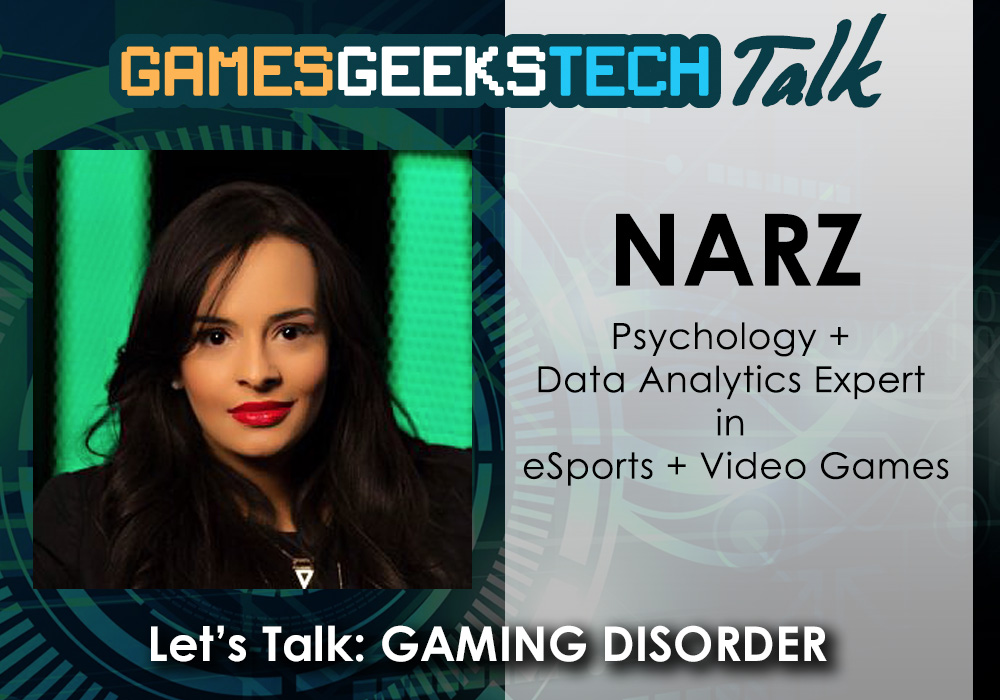 Photo of Video Game Expert Narz on the Games Geeks Tech Talk